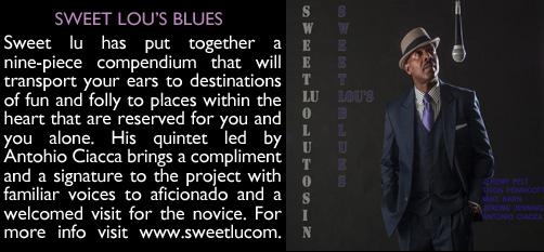SWEET LOUS BLUES 11.16.14